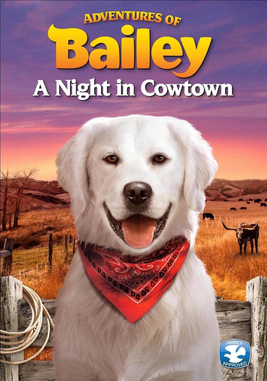 Výsledek obrázku pro adventures of bailey a night in cowtown dvd