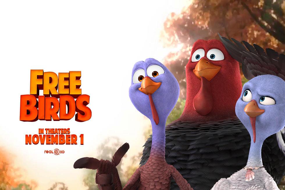free birds - movie mom, Powerpoint templates