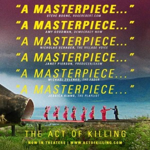 act of killing poster