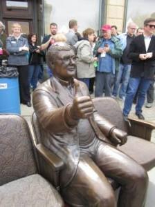 ebert statue