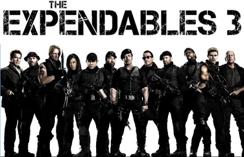 The Expendables... Mel Gibson Expendables 3