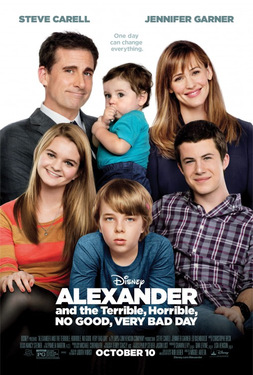 Alexander And The Terrible,Horrible, No Good, Verry Bad Day 2014 Malaysubs