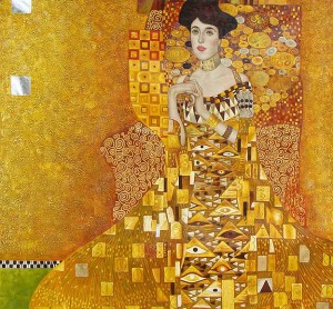 The Woman in Gold by Gustav Klimt  All rights reserved Neue Galerie