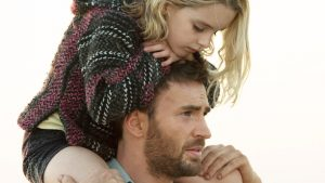 "Mckenna Grace as ""Mary Adler"" and Chris Evans as ""Frank Adler"" in the film GIFTED. Photo by Wilson Webb. © 2016 Twentieth Century Fox Film Corporation All Rights Reserved."